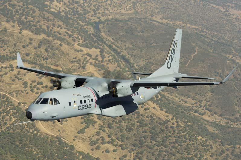 Военно-транспортный самолет Airbus C295W.