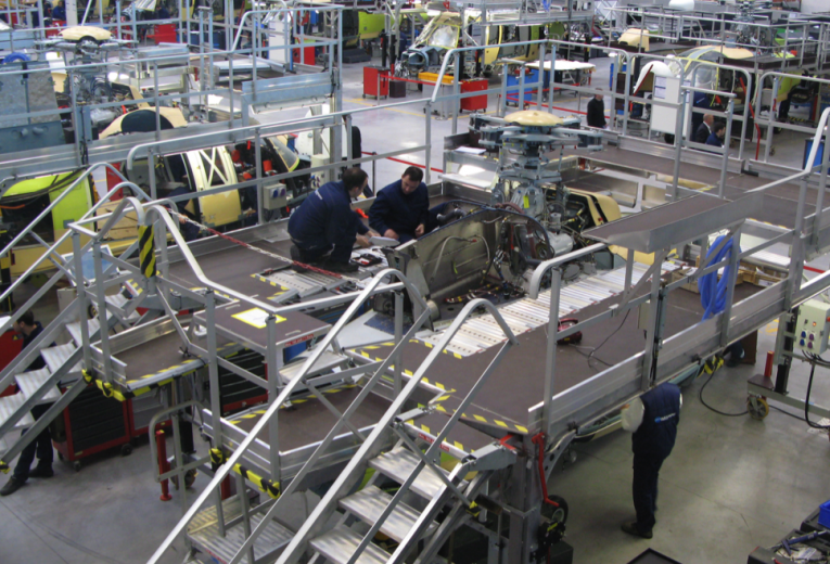 Производственная площадка Airbus Helicopters в Мариньяне.