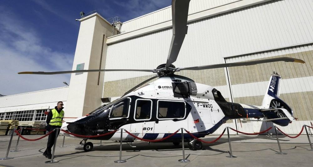 Один из предполагаемых кандидатов на продажу Ирану - вертолет Airbus Helicopters H160 .