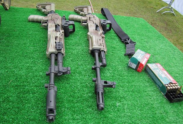 Автоматы АК-12 и АК-15.