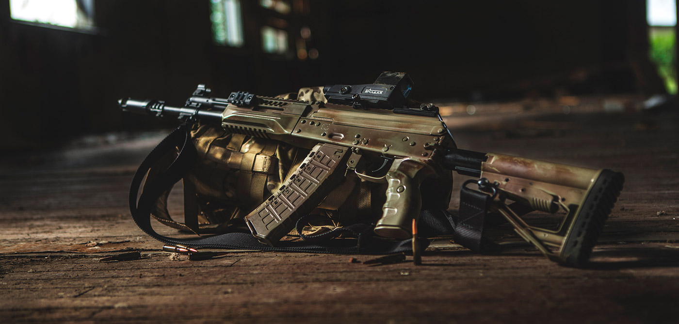 5,45-мм автомат Калашникова АК-12.