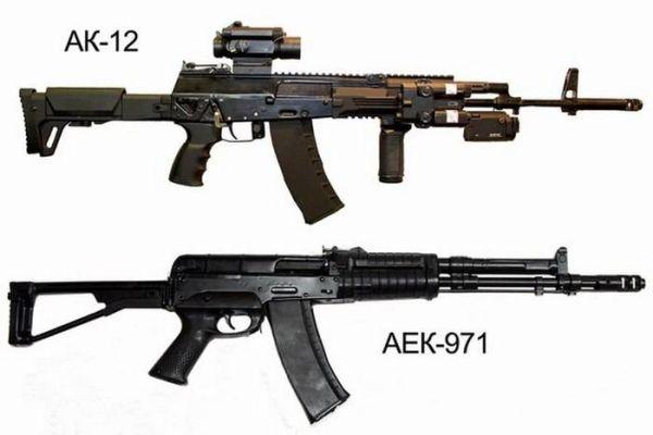 АК-12 и АЕК-971