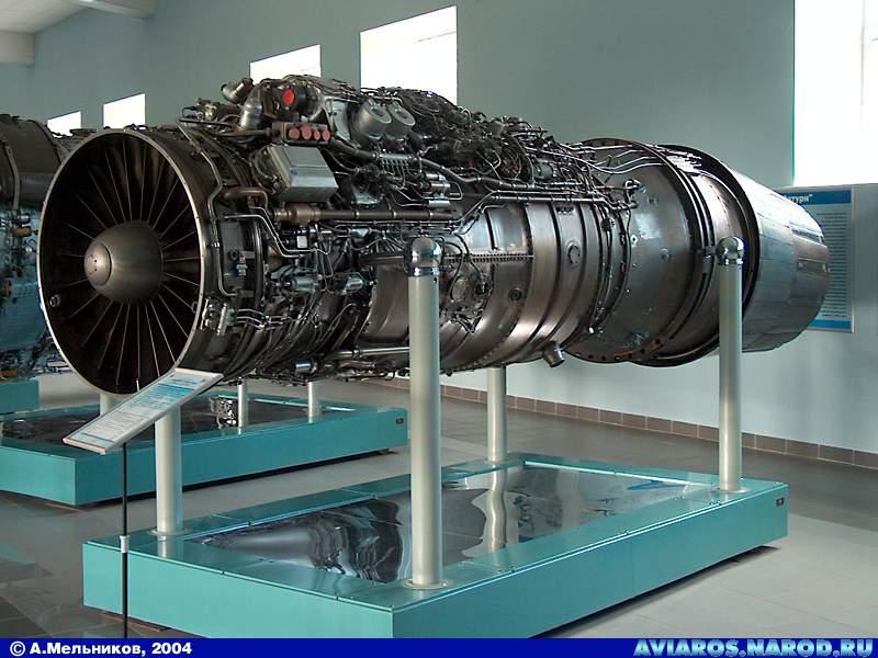 Российский авиационный турбореактивный двухконтурный двигатель с форсажной камерой и всеракурсно управляемым вектором тяги АЛ-41Ф1 (Изделие 117)<br>Источник: http://www.brazd.ru/.