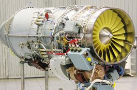 Российский многофункциональный турбореактивный двигатель АЛ-55И<br>Источник: http://www.uk-odk.ru/.