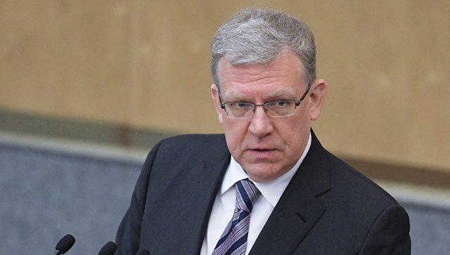 Кандидат на пост председателя Счетной палаты Алексей Кудрин на пленарном заседание Государственной думы РФ. 22 мая 2018.