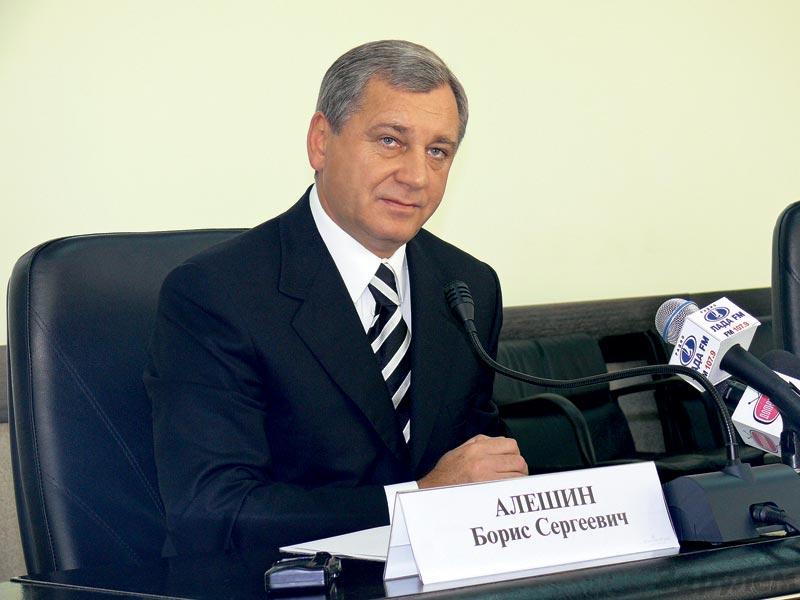 Борис Алешин.