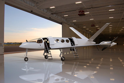 Прототип электрического самолета Alice.