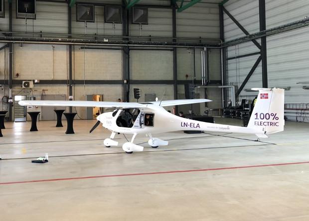 Электрический самолет Alpha Electro.