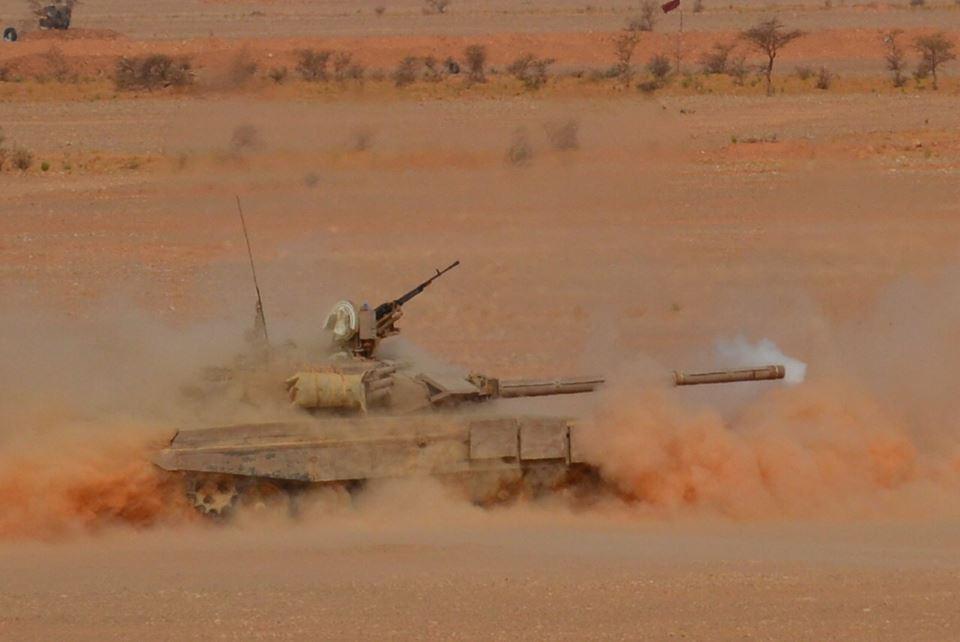 Алжирские Т-90С.