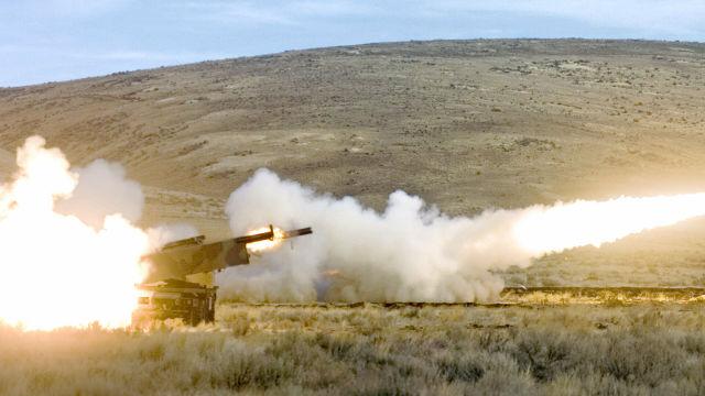 Американская высокомобильная ракетно-артиллерийская система оперативно-тактического назначения HIMARS
