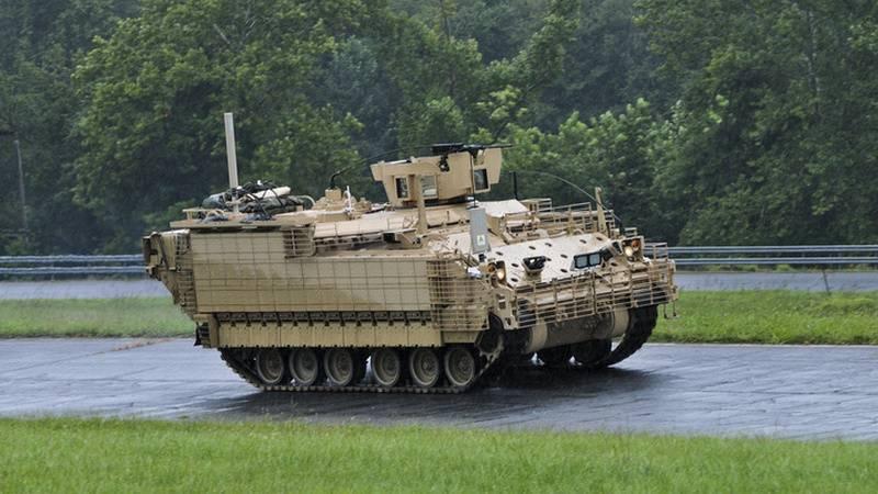 Бронемашина программы AMPV компании BAE Systems.