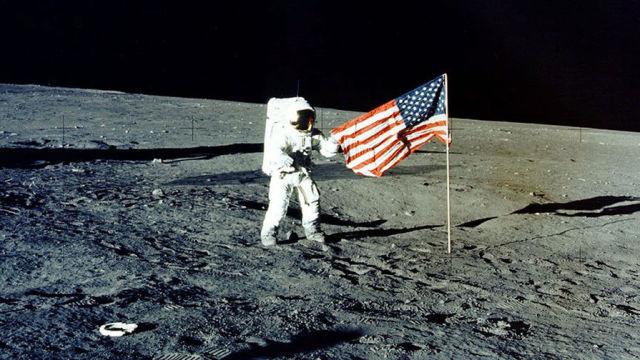 Американская экспедиция на Луне