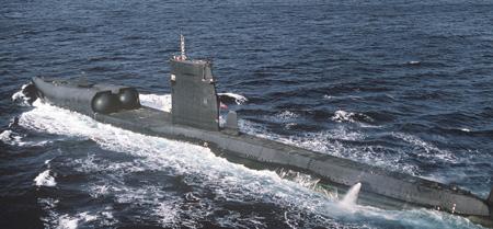 """Американская подводная лодка """"Грейбэк"""""""