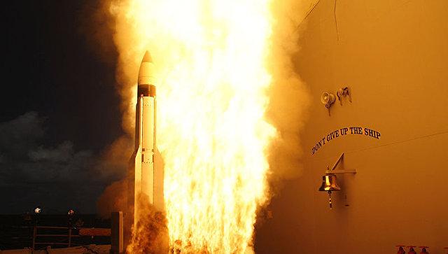 Американская ракета-перехватчик SM-3.