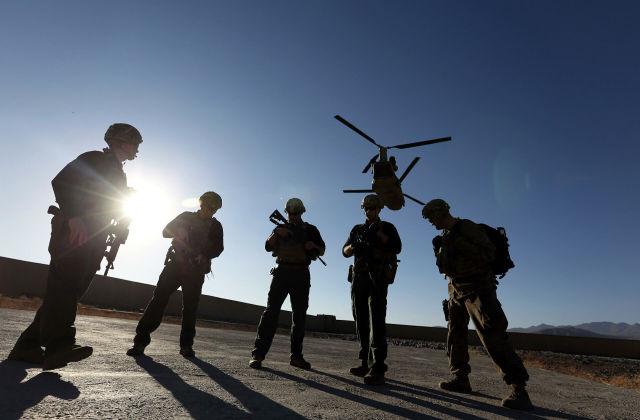 Американские солдаты в провинции Логар, Афганистан