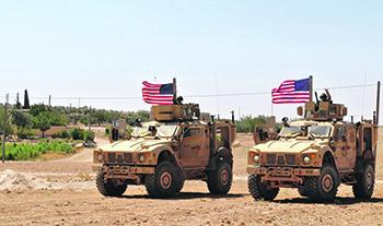 Американские сухопутные войска в Сирии. Фото с сайта www.dvidshub.net
