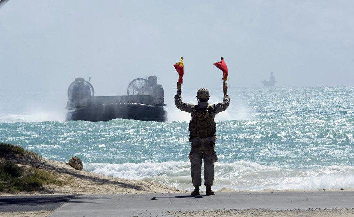 """Американские военно-морские учения """"Римпак-2008""""."""