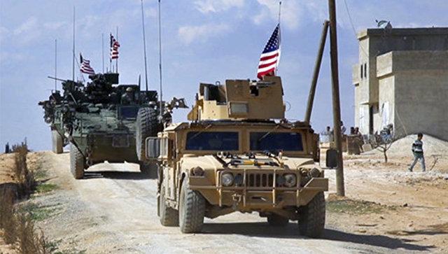 Американские силы в Алеппо. Архивное фото.