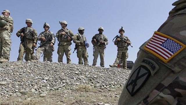 Американские солдаты. Архивное фото.