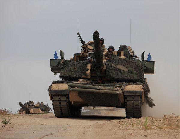 Американские танки M1A2 SEPv2 Abrams