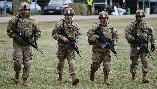 Американские военные. Архивное фото.