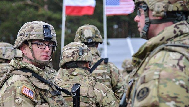 Американские военные в Польше.