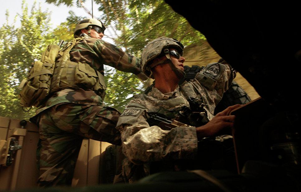 Американские войска специального назначения. Архивное фото.