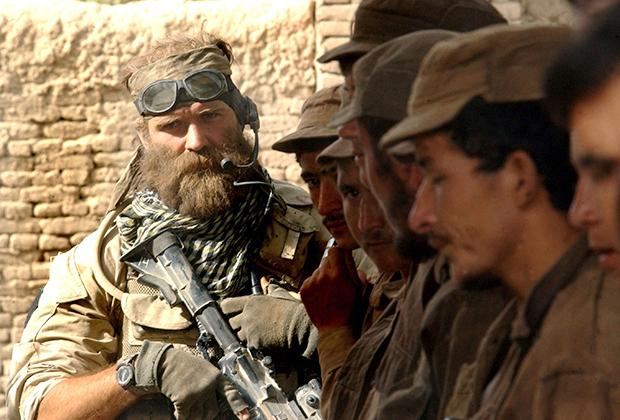 Американский спецназовец в Ираке.
