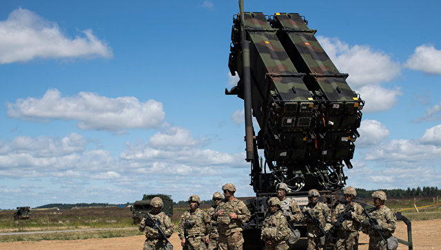 Американский ракетный комплекс Patriot.