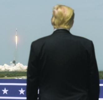Американское руководство рассматривает космос как поле битвы. Фото Reuters