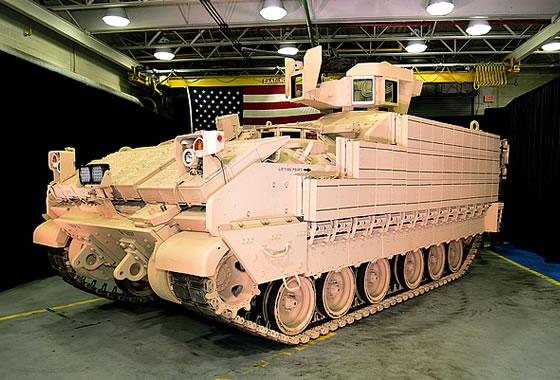 Многоцелевая бронированная машина AMPV (Armored Multi-Purpose Vehicle).