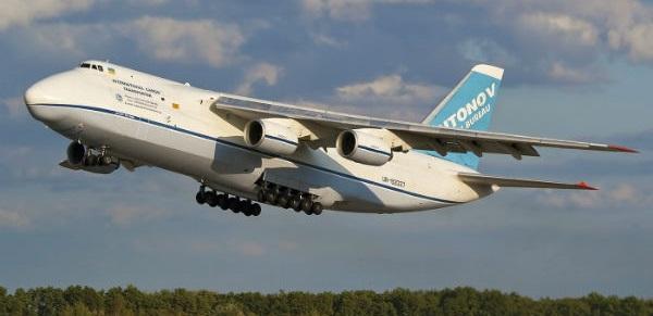 Самолет Ан-124 «Руслан» созданный в 1982 году.