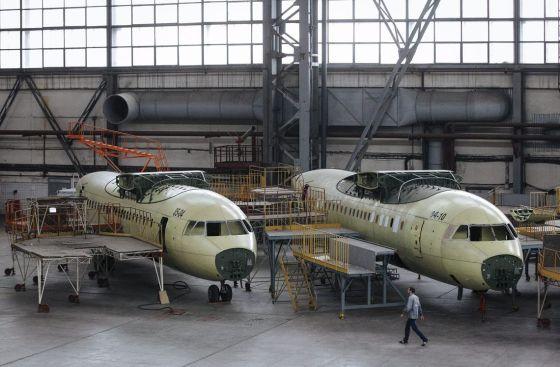 Фюзеляжи самолетов Ан-148-100