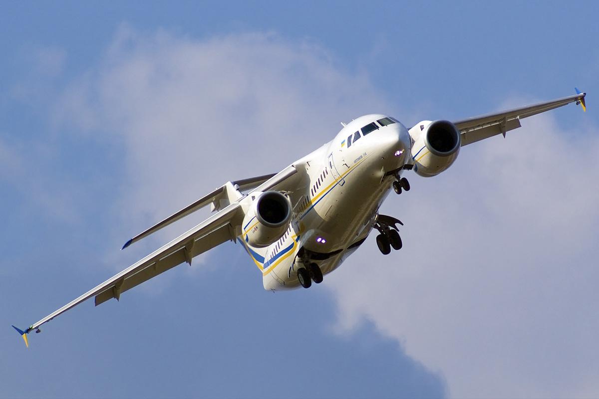 Самолет Ан-158. Источник: www.avia-mir.com.
