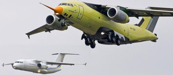 Самолеты Ан-178 и Ан-158