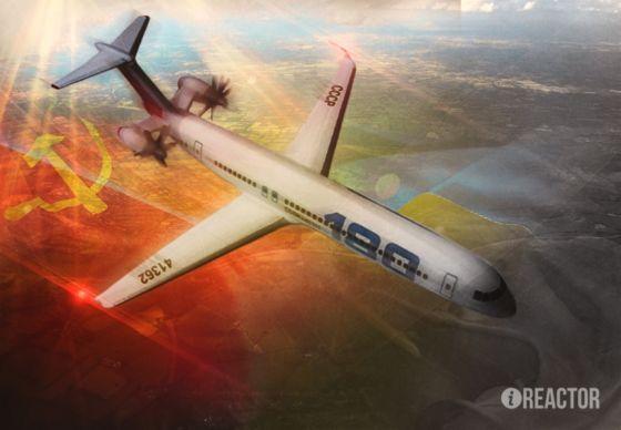 Рисунок лайнера Ан-180