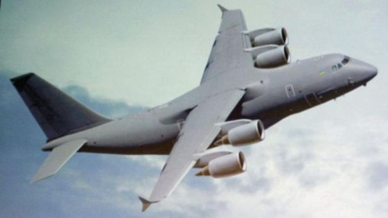 Облик самолета Ан-188