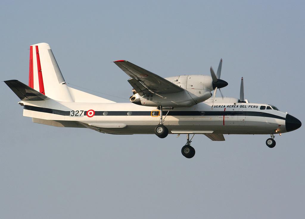 Ан-32 ВВС Перу.