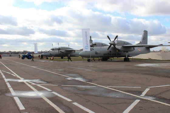 Самолеты Ан-32RE