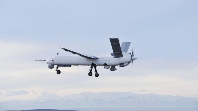 Турецкий беспилотный летательный аппарат Anka Block B (также известный как Anka-S).