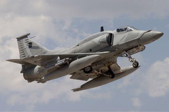 Штурмовик A-4AR ВВС