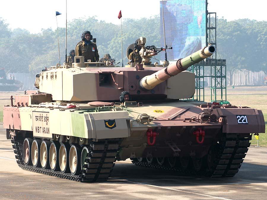 Основной боевой танк Arjun Mk1.