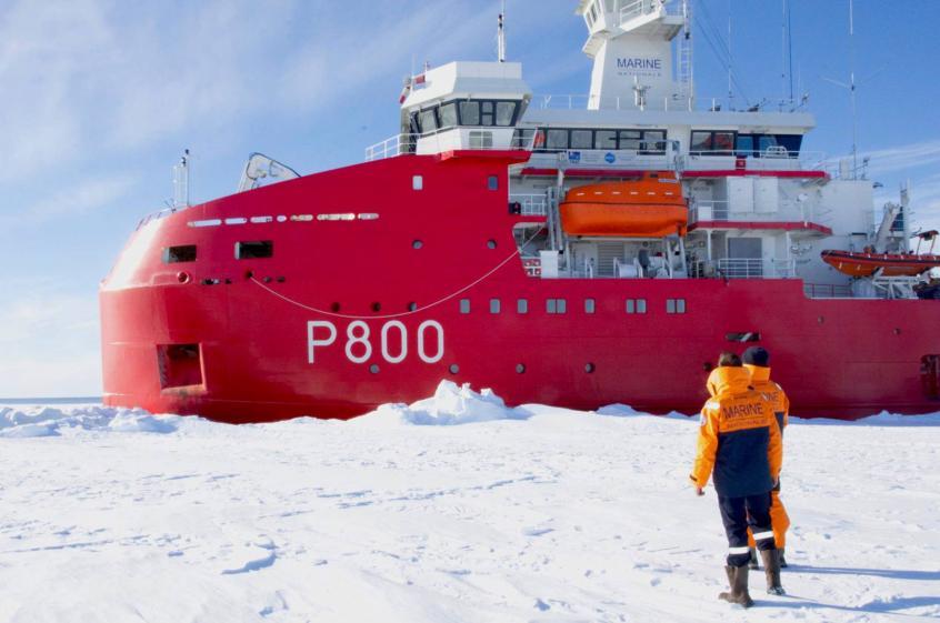 Арктический патрульный корабль Р800 L'Astrolabe.