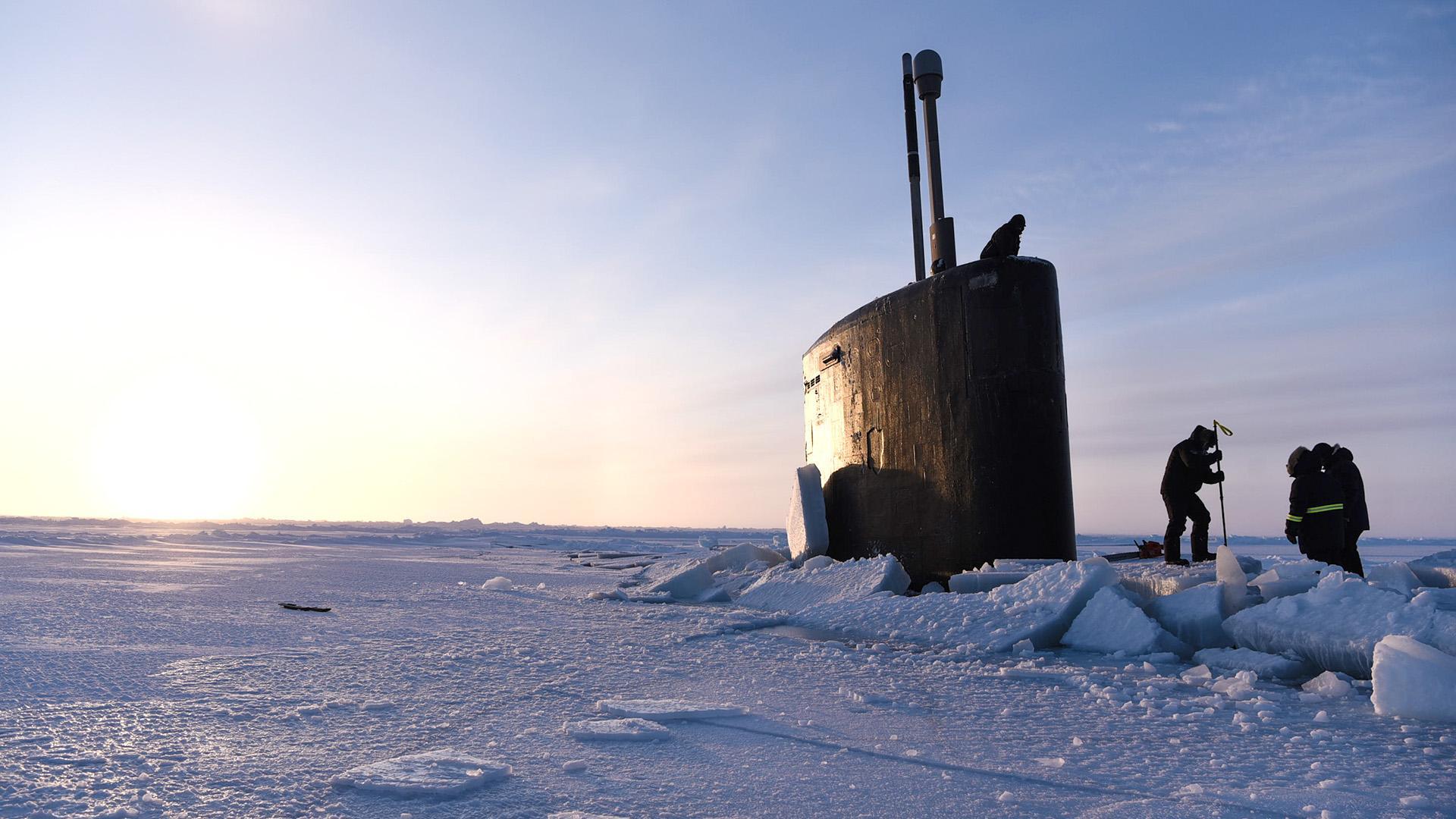 Учения в Арктике ICEX-2018.