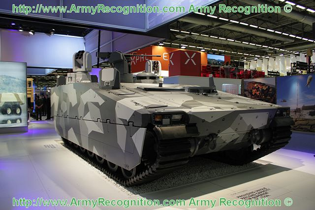 Вариант бронетранспортера CV90 Armadillo компании BAE Systems, предложенный весной 2013г. датской армии. Источник: www.armyrecognition.com.