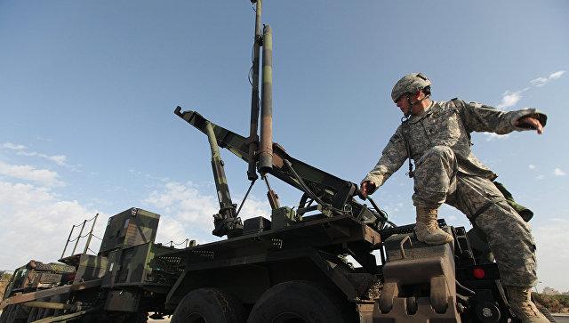 Армейский зенитно-ракетный комплекс Patriot вооруженных сил США. Архивное фото.