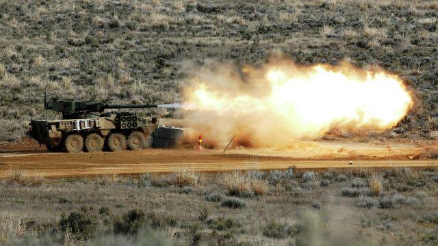 Артиллерийская самоходка Stryker M1128 Mobile Gun System