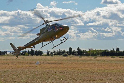 Гибридный вертолет в котором используется тандем турбовального двигателя и электрического мотора, созданный компанией Eurocopter на основе одномоторного вертолета AS350.