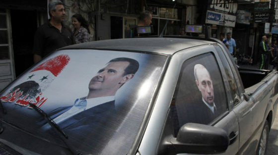 Предвыборный плакат Башара Асада