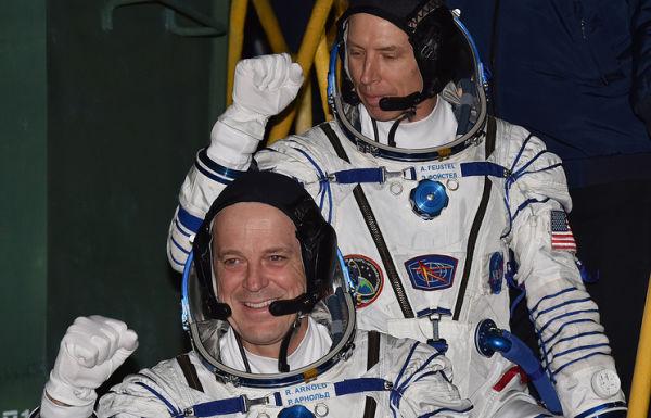Астронавты NASA Эндрю Фойстел и Ричард Арнольд